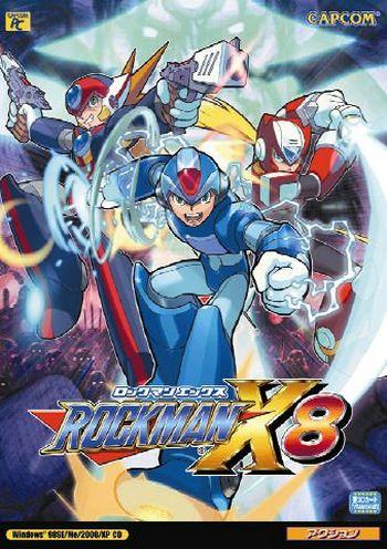 Download Game Mega Man x8 - PS2